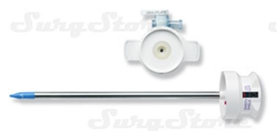 Picture of 179101 Обтураторы короткие Versaport RT (комплект: стилет с защитой V2, 5мм, корпус с лепестковым клапаном, краном инсуффляции, для многоразовых канюль 5мм)