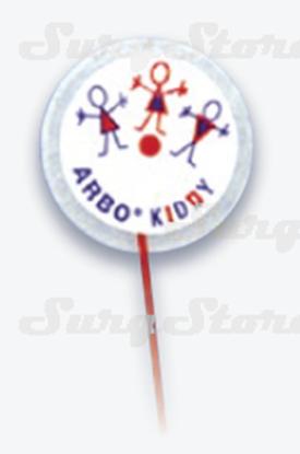 Picture of 31.5872.04 ЭКГ электроды Kendall™ Ø30мм микропористый материал неонатальные 1,5мм DIN