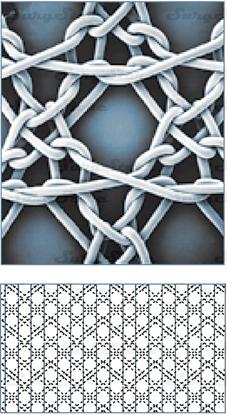Image de PP1515 Нерассасывающаяся хирургическая полипропиленовая сетка 15x15 см