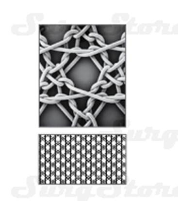 Image de PP3030 Нерассасывающаяся хирургическая полипропиленовая сетка 30x30 см