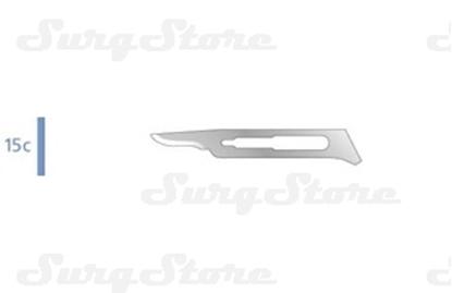 Изображение 205350003 Лезвия нержавеющая сталь для общей хирургии, № 15С