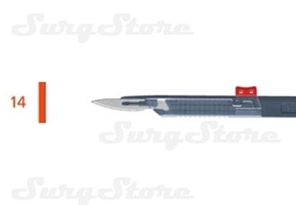 Picture of 200140014 Скальпели с защитой для общей хирургии, № 14