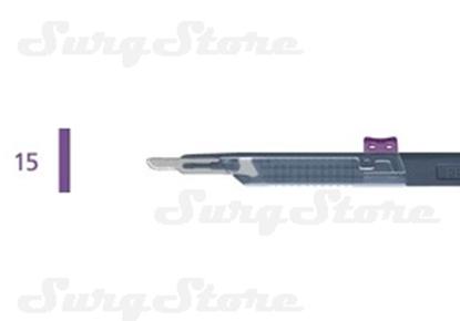 Picture of 200140015 Скальпели с защитой для общей хирургии, № 15