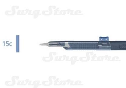 Picture of 200140115 Скальпели с защитой для общей хирургии, № 15С