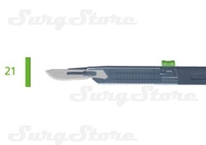 Picture of 200140021 Скальпели с защитой для общей хирургии, № 21