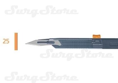Picture of 200140025 Скальпели с защитой для общей хирургии, № 25