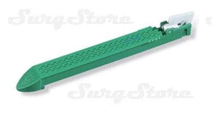 Picture of GIA10048L Кассеты к инструментам GIA DST, 100 мм, 4 ряда скобок 4,8 мм, нож, для утолщенной ткани, зеленые