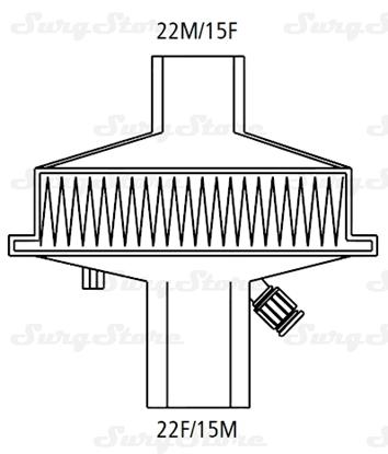 Immagine di 351/5878 Фильтры механические Стеривент С (STERIVENT S)