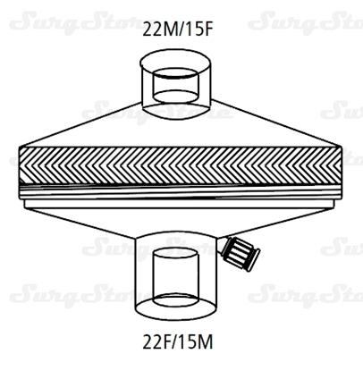 Immagine di 352/5805 Фильтры электростатические Гигробак (HYGROBAC) с тепловлагообменником