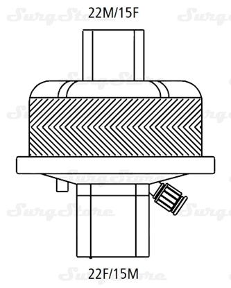 Immagine di 352/5877 Фильтры электростатические Гигробак С (HYGROBAC S) с тепловлагообменником
