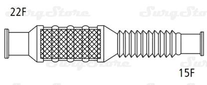 Изображение 353P5908 Тепловлагообменники Флекслайф (FLEXLIFE) с гибким растяжимым коннектором