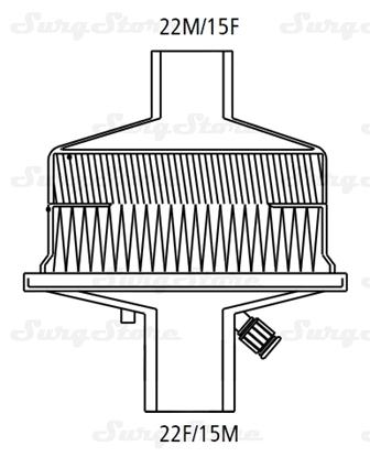 Изображение 354/5876 Фильтры механические Гигростер (HYGROSTER) с тепловлагообменником