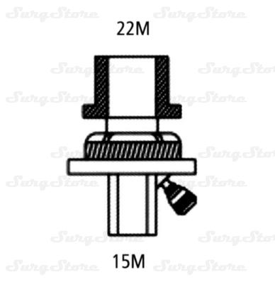 Immagine di 355/5916 Фильтры электростатические Гигробэби (HYGROBABY) с тепловлагообменником с переходником 22М