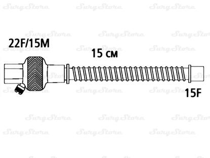 Immagine di 353/5426 Тепловлагообменники Гигролайф 2 (HYGROLIFE II) с гибким ПВХ коннектором