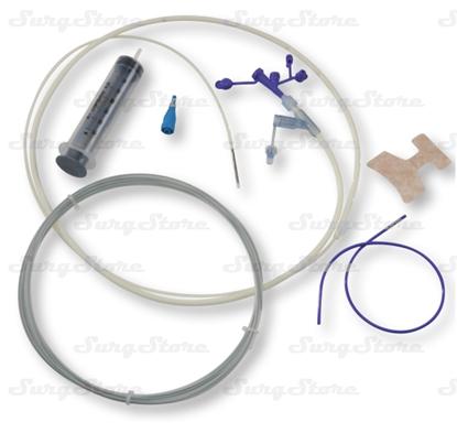Изображение 8884752513 Набор одноразовый медицинский Kangaroo для назоеюнального кормления ПУ 97см 16FR, стилет