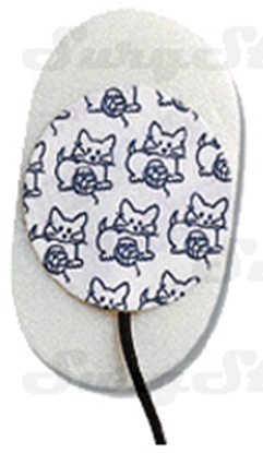 Picture of 31368072 ЭКГ электроды Kendall™ Kittycat™ Ø22мм тканый материал неонатальные 1,5мм DIN