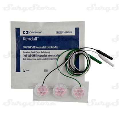 Picture of 31424743 ЭКГ электроды Kendall™ Kittycat™ Ø25мм тканый материал неонатальные 1,5мм DIN