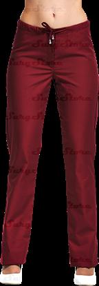 Immagine di БРЮ3405.13 Брюки женские, со шнуром бордо (сатори) DS™