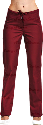 Изображение БРЮ3405.13 Брюки женские, со шнуром бордо (сатори) DS™