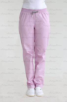 Изображение БРЮ3401.04 Брюки женcкие, на резинке розовые  DS™