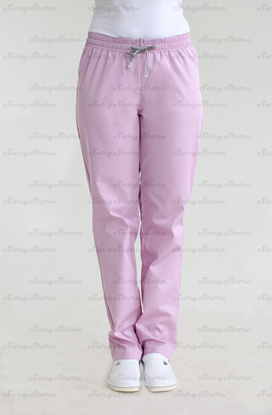 Picture of БРЮ3401.04 Брюки женcкие, на резинке розовые  DS™