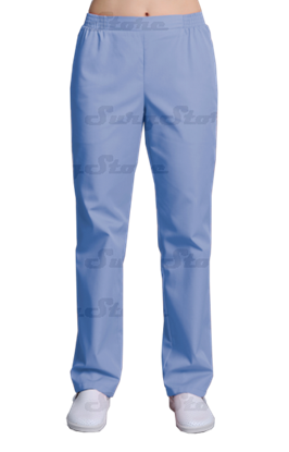 Изображение БРЮ3401.06 Брюки женские, на резинке голубые  DS™