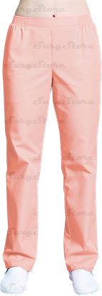 Picture of БРЮ3401.12 Брюки женские, на резинке персик DS™