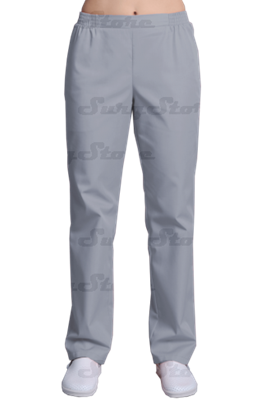 Picture of БРЮ3401.08 Брюки женские, на резинке серые  DS™