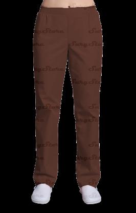 Picture of БРЮ3401.14 Брюки женские, на резинке шоколад  DS™