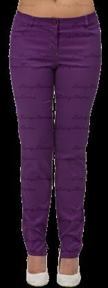 Изображение БРЮ3409.15 Брюки женские, слим фиолетовые  DS™