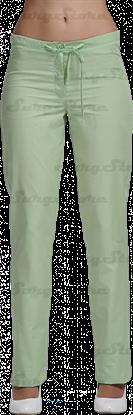 Изображение БРЮ3405.10 Брюки женские, со шнуром зеленый лист DS™