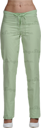 Picture of БРЮ3405.10 Брюки женские, со шнуром зеленый лист DS™