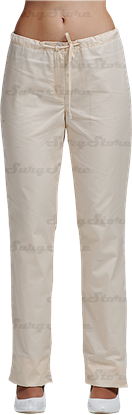 Изображение БРЮ3405.11 Брюки женские, со шнуром крем DS™