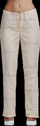 Immagine di БРЮ3405.11 Брюки женские, со шнуром крем DS™