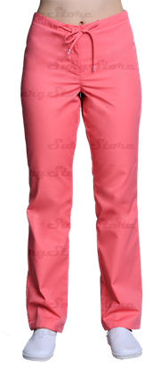 Изображение БРЮ3405.02 Брюки женские, со шнуром настурция DS™