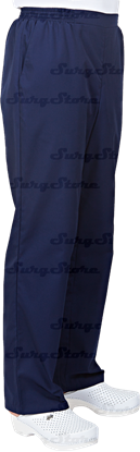Picture of БРЮ3408.19 Брюки мужские, на резинке темно-синие DS™