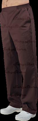 Picture of БРЮ3408.14 Брюки мужские, на резинке шоколад DS™
