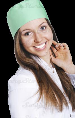 Изображение КО3302.09 Колпак медицинский, (зеленый ) DS™