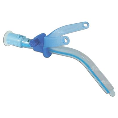 Изображение 100/526/060 Трахеостомическая трубка 6,0 мм, силиконизированная, с регулируемым фланцем, без манжеты