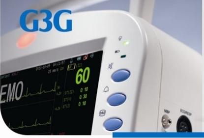 Image de G3G Многопараметрический монитор пациента пульсоксиметр