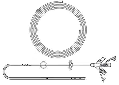 Изображение 0650-16 трансгастрально-еюнальные трубки MIC KIMBERLY-CLARK, 16 FR, длина 45 см, баллон 10/7 мл, силиконовые, стерильно