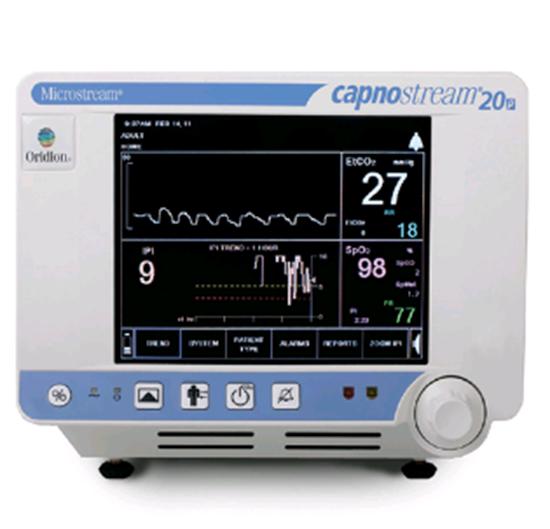 Picture of Капнограф пульсоксиметр CAPNOSTREAM со встроенным принтером CS08658-03