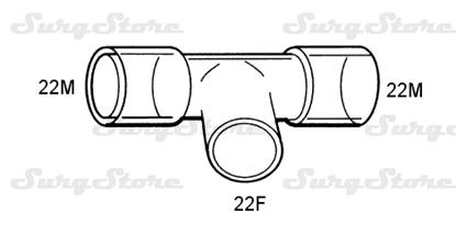 Picture of 615/5101 коннекторы DAR MEDTRONIC-COVIDIEN, размер 22M-22M-22F, стерильно