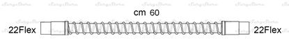 Изображение 286/5066 трубки дыхательные DAR MEDTRONIC-COVIDIEN, гладкоствольные, поливинилхлорид (ПВХ), педиатрические, диаметр 15 мм, 22Flex коннектор пациента, 22Flex коннектор ИВЛ, длина 60 см, стерильно