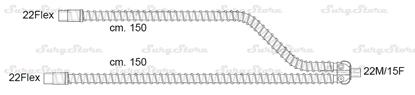 Изображение 301/6326 контуры DAR MEDTRONIC-COVIDIEN, гладкоствольные, поливинилхлорид (ПВХ), взрослые, диаметр 22 мм, Y-образный 22M/15F коннектор пациента, 22Flex-22Flex коннектор ИВЛ, длина 150+150 см, стерильно
