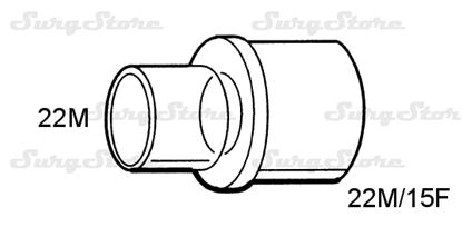 Picture of 609/5252 коннекторы DAR MEDTRONIC-COVIDIEN, размер 22М-22М/15F, стерильно