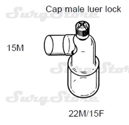 Picture of 620/9019 коннекторы DAR MEDTRONIC-COVIDIEN,  22M/15F коннектор пациента, 15M коннектор ИВЛ, стерильно